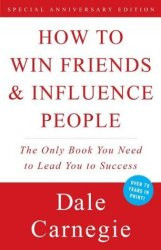 book cover - how to win friends and influence people