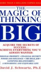 book cover - magic of thinking big