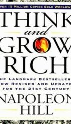 book cover - think and grow rich