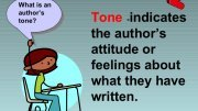 Tone in literature definition