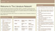 World Literature Timeline