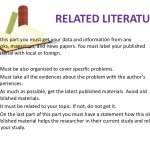 Thesis Literature definition
