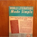 World Literature how the World was made