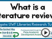 17 - what is a literature review