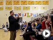 Author Richard Paul Evans Visits Lane Middle School