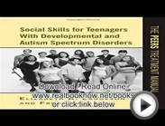 Books of Social Skills for Teenagers with Developmental