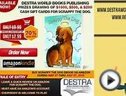 Destra World Books Publishing Prizes Drawing for Scrappy