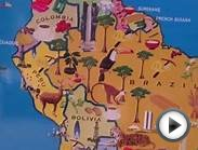 Eeboo world map for kids | Teach your kid countries