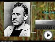 John Steinbeck (Of Mice and Men) - Short Biography - GCSE