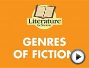 Literature for Students:5. Genres of Fiction