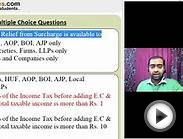 Multiple Choice Questions - Income Tax - Marginal Relief