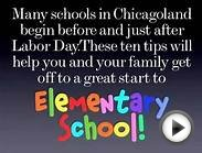 Top Ten Strategies for a Great Start to Elementary School