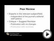 Types of Literature, Peer Review, and IMRaD