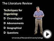 Writing the Literature Review (Part Two): Step-by-Step