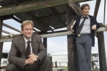 Woody Harrelson and Matthew McConaughey in a scene from HBO's